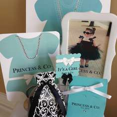 Tiffani's Books and Bows Shower - Breakfast at Tiffany's
