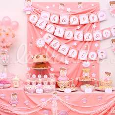 Pink Fairy Birthday Party Theme - B3 - Fairy Tale