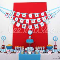 Choo Choo Train Birthday Party Theme - B4 - Thomas the Train