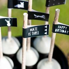 Mod Outdoors Man Birthday - Camping