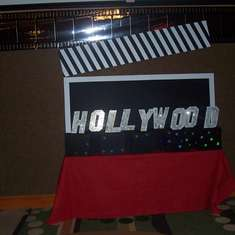 Hollywood Theme Company Holiday Party - Hollywood Red Carpet