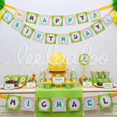 Dinosaur Birthday Party Theme - B18 - Dinosaurs