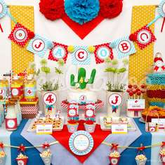 Cowboy Wanted Birthday Party Theme - B19 - cowboy