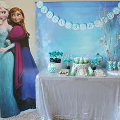 Aubree's Frozen Themed party  - Frozen (Disney)