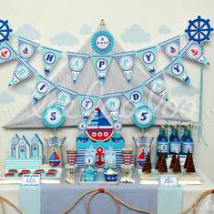 Nautical Birthday Party Theme - B23 - Nautical
