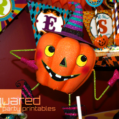 Halloween Birthday Carnival - Happy Boo-Day to You! - Halloween