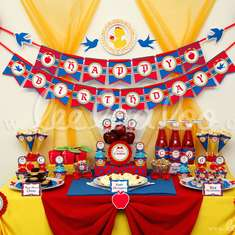 Snow White Princess Birthday Party Theme - B25 - Snow White