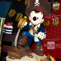 Mickey's Pirates of the Caribbean party - Mickey Mouse