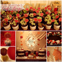 "She has ""fall""en in love! A Fall Themed Bridal Shower - Autumn"
