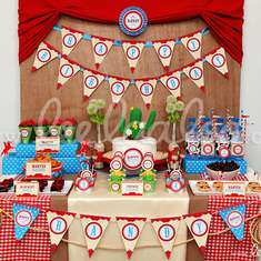 Cowboy Wild West Birthday Party Theme - B29 - Cowboy