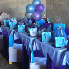 Bella's Frozen themed party - Frozen