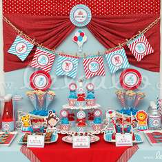 Circus Carnival Party Theme - B31 - Circus / Carnival