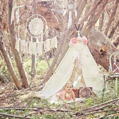 Dreamy Navajo Wooded 1st Birthday - Tribal/Navajo