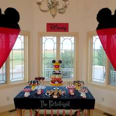 Disney Themed Birthday Party - DISNEY