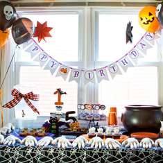 Spooky Double Halloween Birthday Party - Halloween