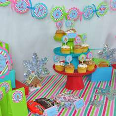 Gingerbread House Birthday Party - Gingerbread
