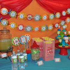 Circus Carnival Birthday Party - Circus / Carnival