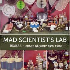 Mad Scientist's Lab - Halloween