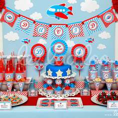 Airplane Party Theme - B33 - Airplanes