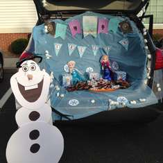 Trunk or Treat - PreSchool - Frozen (Disney)