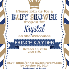 Welcome Prince Kayden - Little Prince