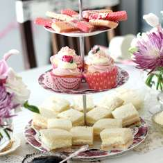 Elegant High Tea Party - Vintage
