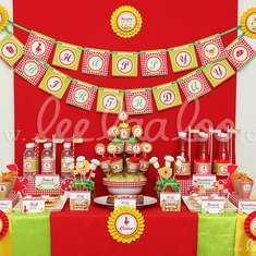 Red Riding Hood Birthday Party Theme - B37 - Little Red Riding Hood