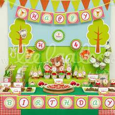 Woodland Birthday Party Theme - B38 - Woodland
