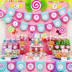 Candyland Birthday Party Theme - B39 - Candy / Sweets / Dessert