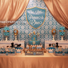 A Royal First Birthday for a Little Prince - Prince