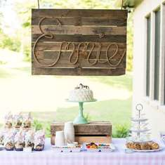 Shabby Chic Pony Party - shabby chic western