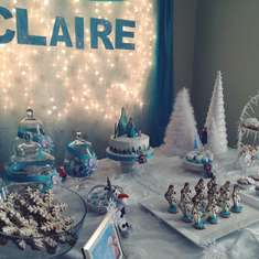 Claire's Frozen Party  - Frozen