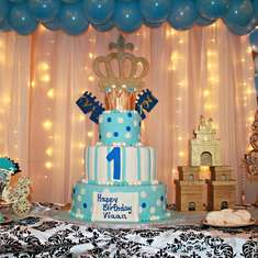 Royal 1st birthday - Royal, Prince