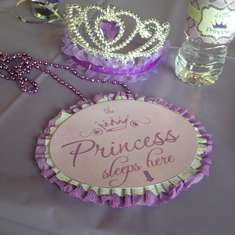 Little Princess Amari Baby Shower (Lavender, Purple, Lime Green and Silver) - Princess