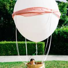 Misha's Growing Up, Up & Away First Birthday - Hot Air Balloon