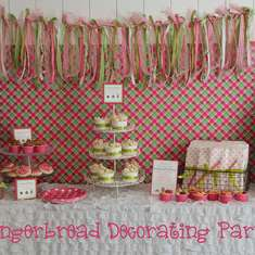 Gingerbread Decorating Party - Gingerbread