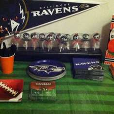21st Birthday Party - Baltimore Orioles and Baltimore Ravens