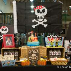 Noah's 1st Pirate Party Birthday - Pirates