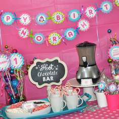 Girl Penguin Birthday Party - Penguin Birthday - Winter One-Derland