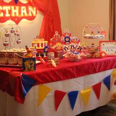 Circus first birthday done under $100 - Circus / Carnival