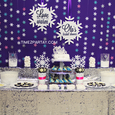 A Winter Wonderland Bridal Shower - Winter