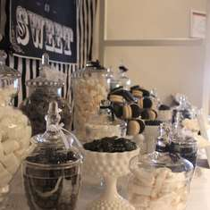 Elegant Black & White Wedding - Wedding