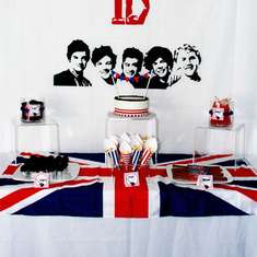 Rockin' Sibling Birthday Party - One Direction