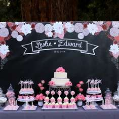 Vintage Chalkboard Wedding - Vintage / Retro