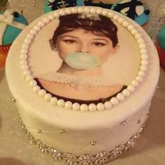 Audree's 18th birthday - Audrey Hepburn