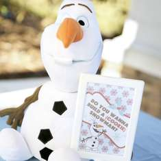 Do You Want To Build A Snowman Themed Workshop Party - Frozen Olaf Elsa