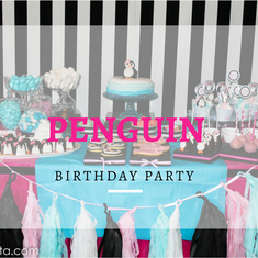 Penguin Birthday party - Penguin party