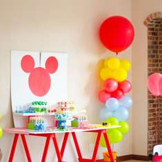 Euen 's 3rd mickey mouse space adventure party. - mickey mouse space adventure