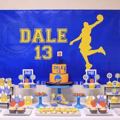 Basketball Birthday Party - Basketball