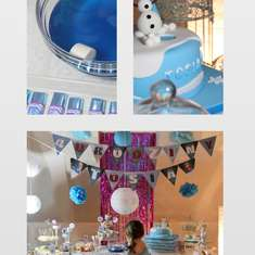 4th birthday - Frozen - Frozen (Disney)